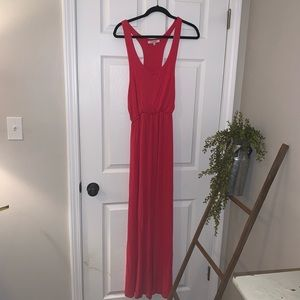 Pink Rolla Coster Collection maxi dress - Size L